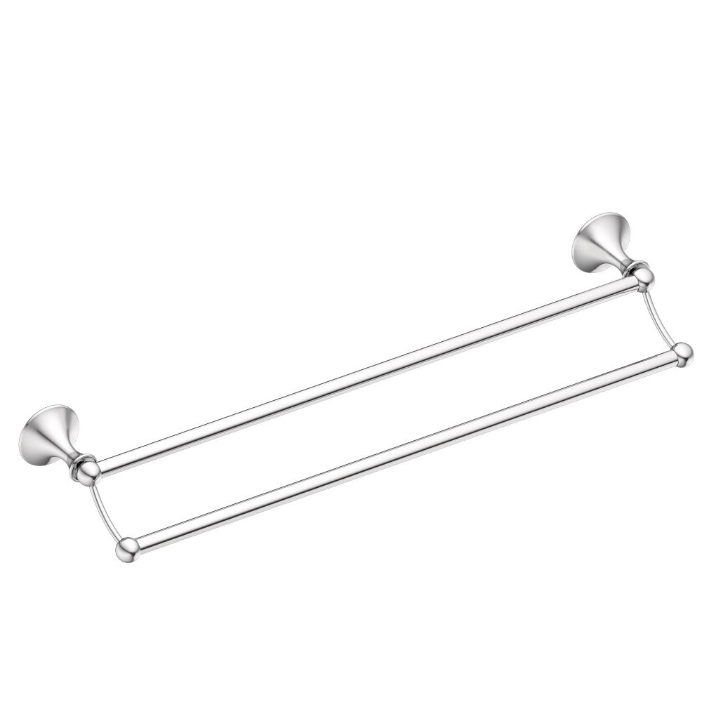 Moen Dn8424bn 24 Inch Bathroom Towel Bar Brushed Nickel Moen Kingsley 24 In Towel Bar In