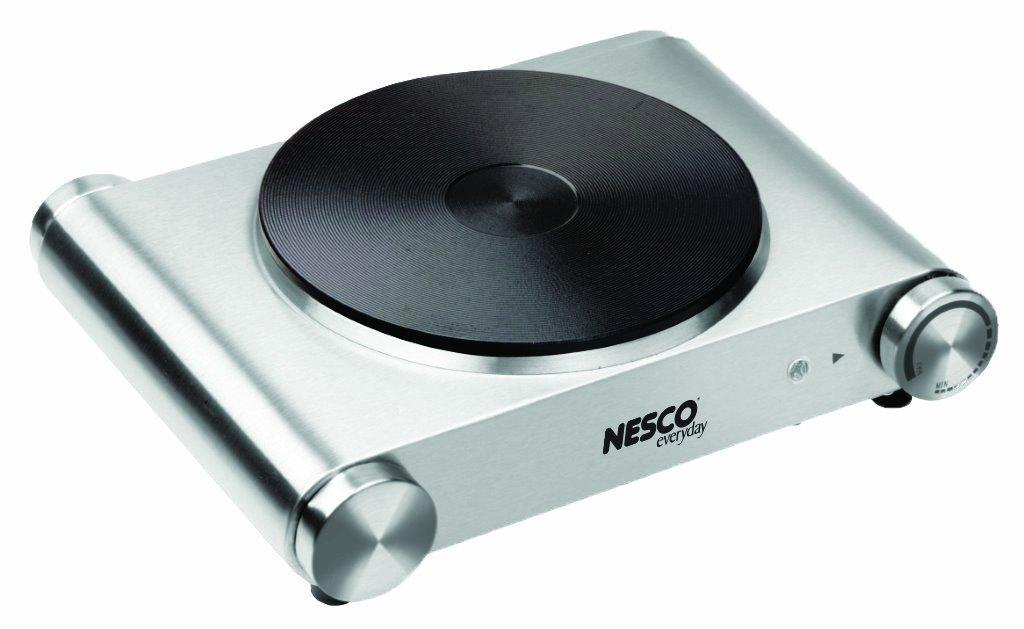 Amazon.com: Nesco SB-01 Stainless Steel Electric Burner ...