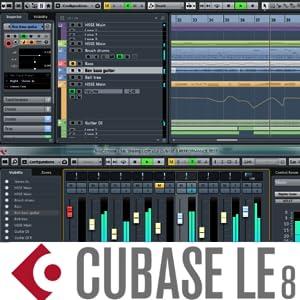 Cubase, Cubase LE, music studio