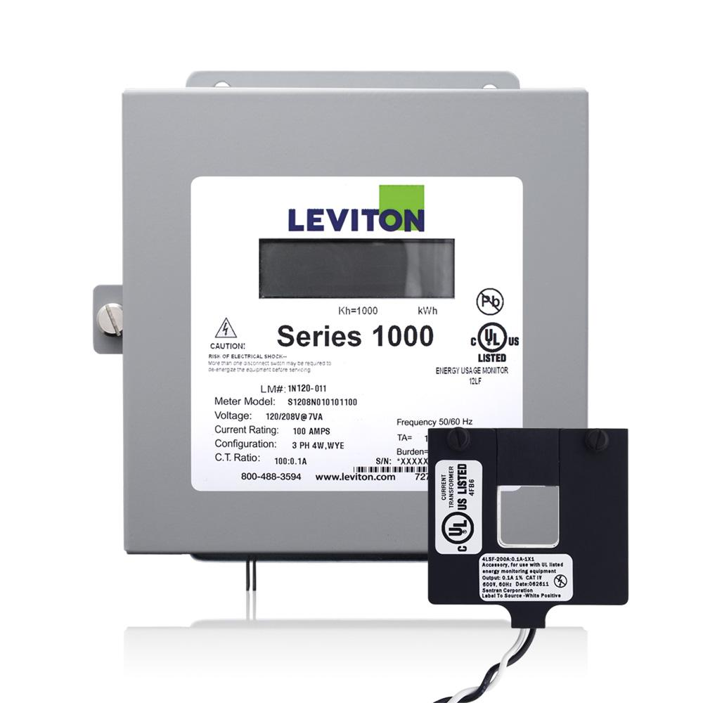 Leviton 1k240 2w Series 1000 120 240v 200a 1p3w Indoor Kit With 2 Phillips Ballast Wiring Diagram Single Phase 208 From The Manufacturer