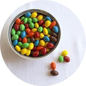 M&M'S Almond Chocolate Candies are perfect chocolate snacks.
