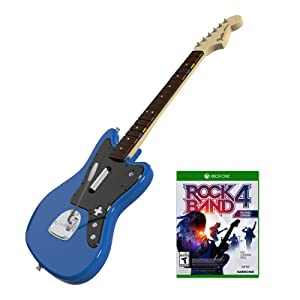Rock Band Rivals Jaguar Bundle Game and Guitar for Xbox One