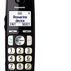 Panasonic KX-TGE232B - Large White Backlit Display