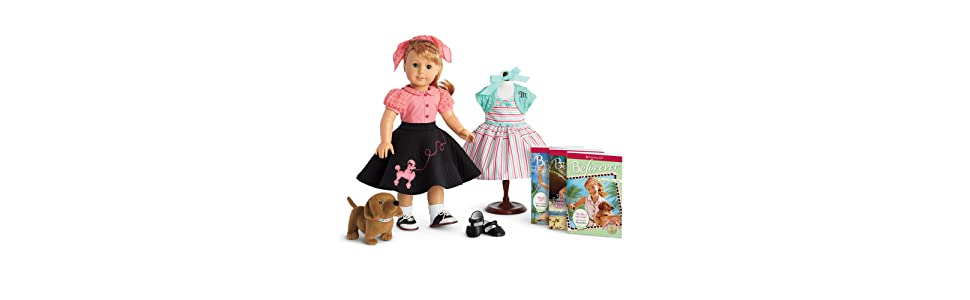 amazoncom american girl maryellen doll books and poodle