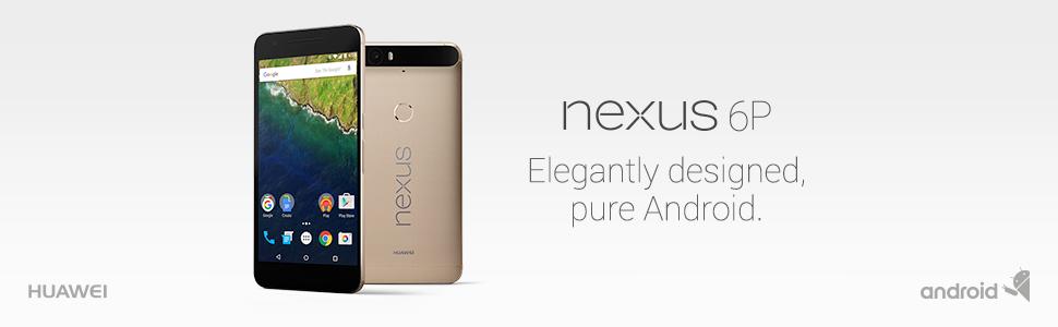 Huawei Nexus 6P unlocked smartphone, 32GB Gold (US Warranty)
