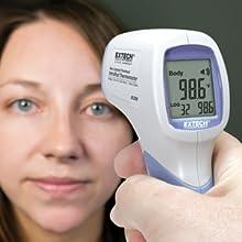 Extech, IR200, Extech IR200, IR thermometer, accurate, quick