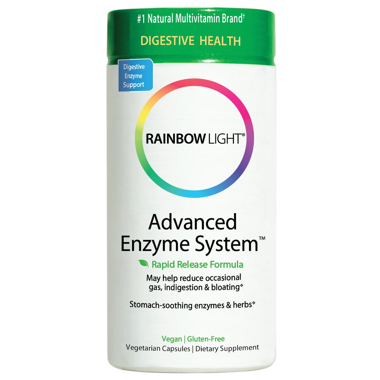 Amazon Com Rainbow Light Advanced Enzyme System Plant
