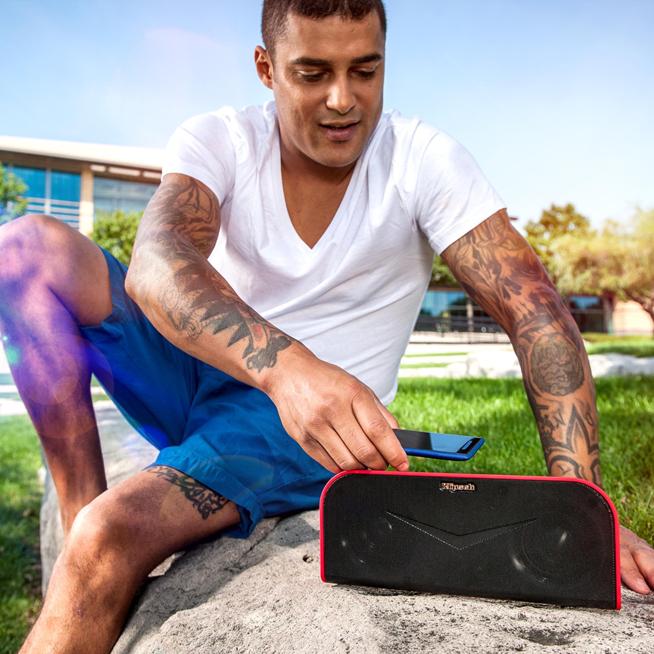 Amazon.com: Klipsch KMC 1 Black Portable Speaker with