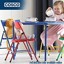 Amazon Com Cosco Products Kid S 4 Pack Pinch Free Folding