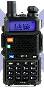 UV-5X3, VHF/220mhz/UHF
