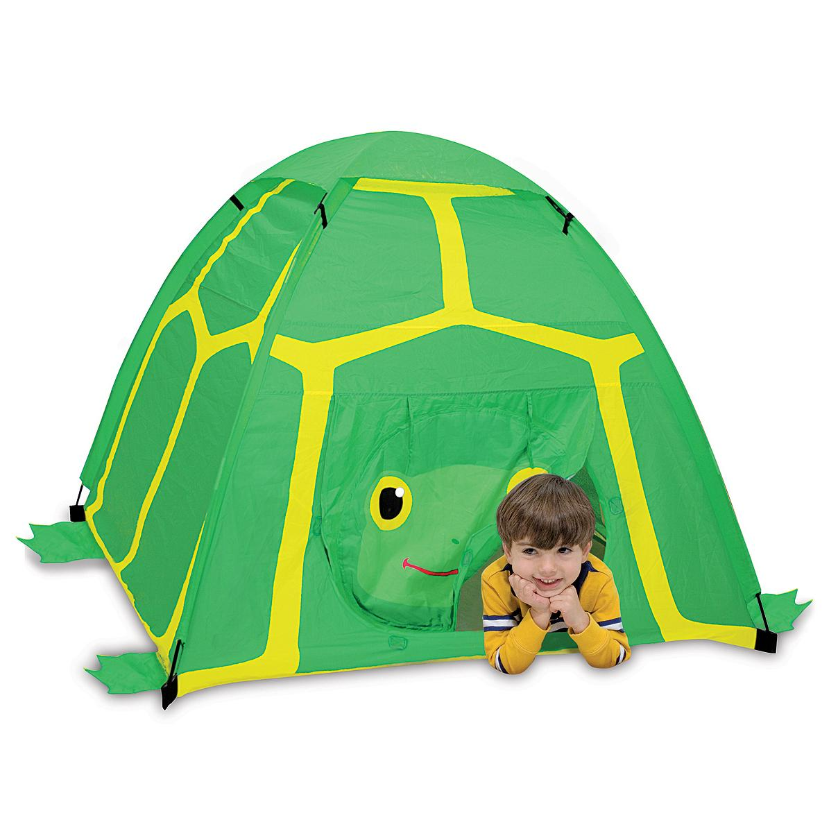 From the manufacturer  sc 1 st  Amazon.com & Amazon.com: Melissa u0026 Doug Sunny Patch Tootle Turtle Camping Tent ...