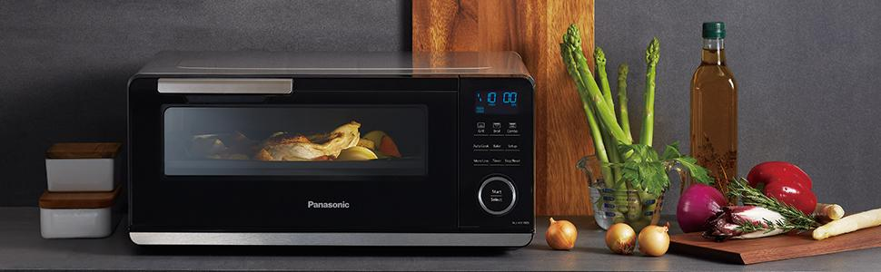 Panasonic countertop induction oven, induction cooking, induction cooktop, allrecipes oven, grill