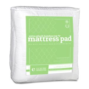 Amazon Com Bamboo Mattress Pad With Fitted Skirt Extra
