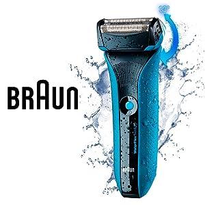 The Braun WaterFlex shaver