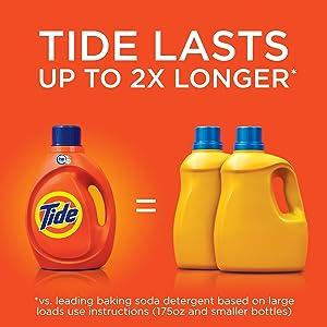 Tide Plus Bleach Alternative Original Scent HE Turbo Clean Liquid Laundry Detergent;
