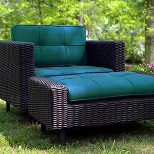 Patio Furniture, Outdoor Furniture, Sunbrella, Wicker, Wright, Deep Seating  Set,