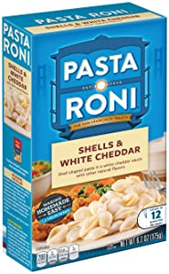 Pasta Roni Shells and White Cheddar