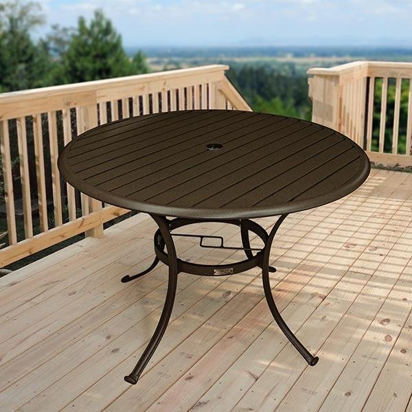 Panama Jack Island Breeze 42 Inch Round Dining Table