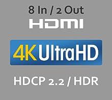 ultrahd, 4k, hdmi2.0a, hdcp2.2