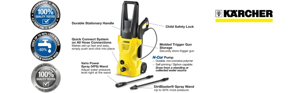 karcher k 2.300 electric pressure washer