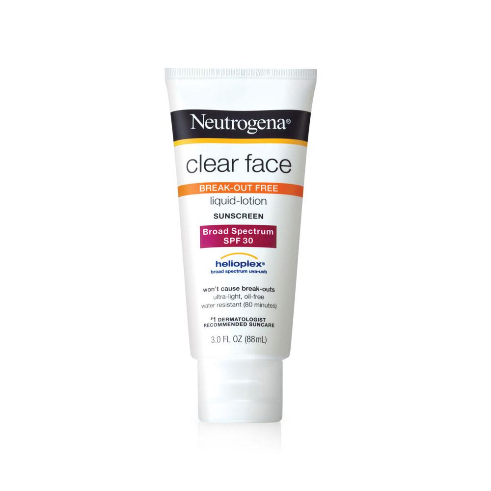 Image result for neutrogena clear face sunscreen spf 30