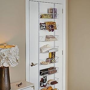 Amazoncom Closetmaid 97536 Adjustable Wall Door Shoe Organizer
