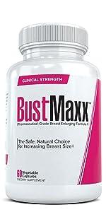 BustMaxx, Breast Enlarging Formula, Pharmaceutical Grade, Natural, Safe, Augmentation, Supplement