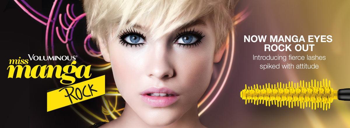 036df9b4652 Amazon.com: L'Oreal Paris Cosmetics Voluminous Miss Manga Rock ...