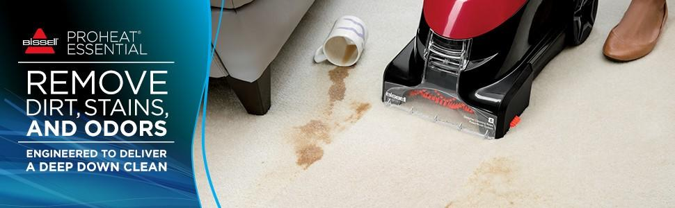 Amazon bissell proheat essential carpet cleaner and carpet from the manufacturer fandeluxe Image collections