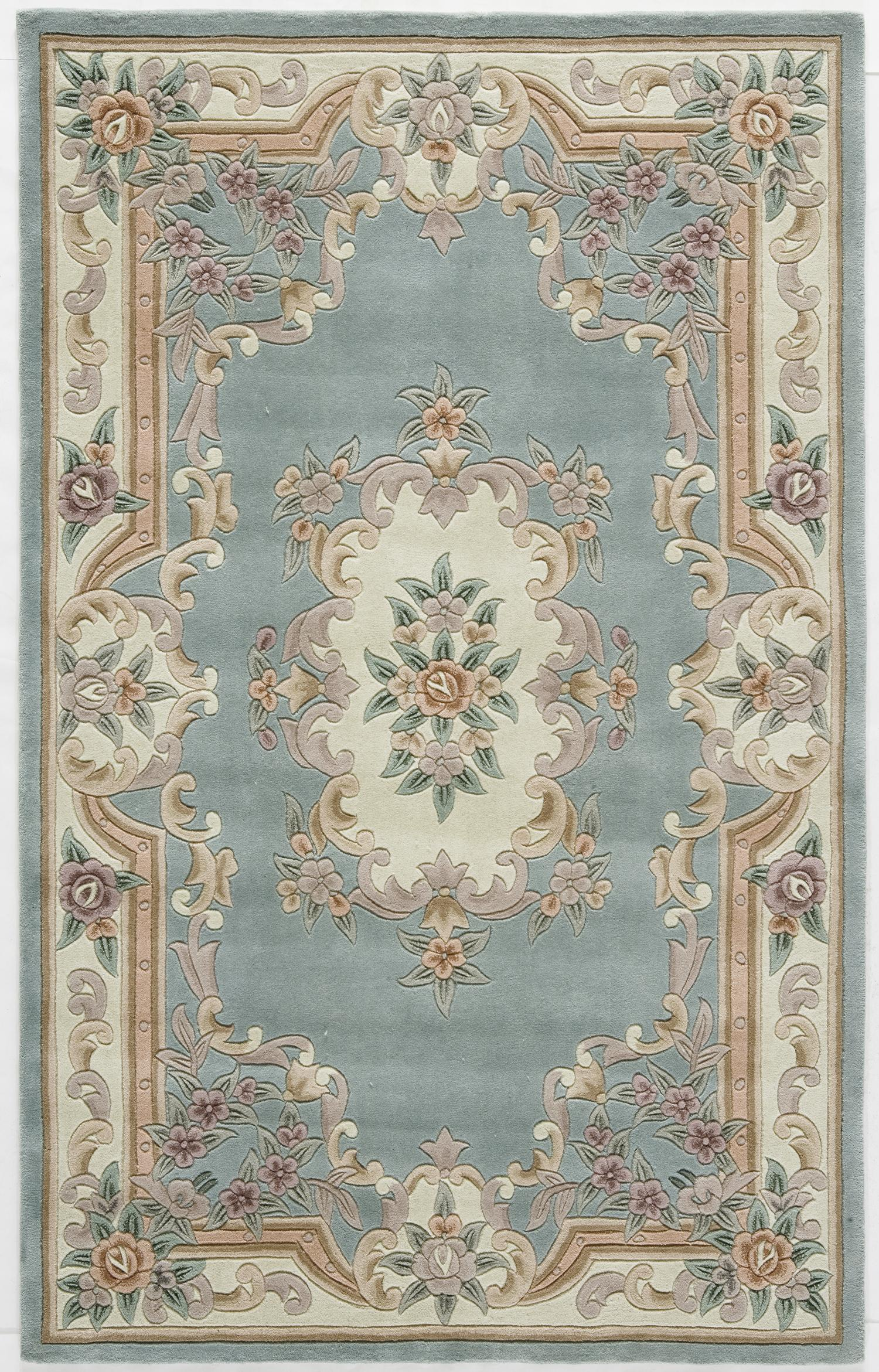 Rugs america new aubusson area rug 5 feet by for Home inspired by india rug
