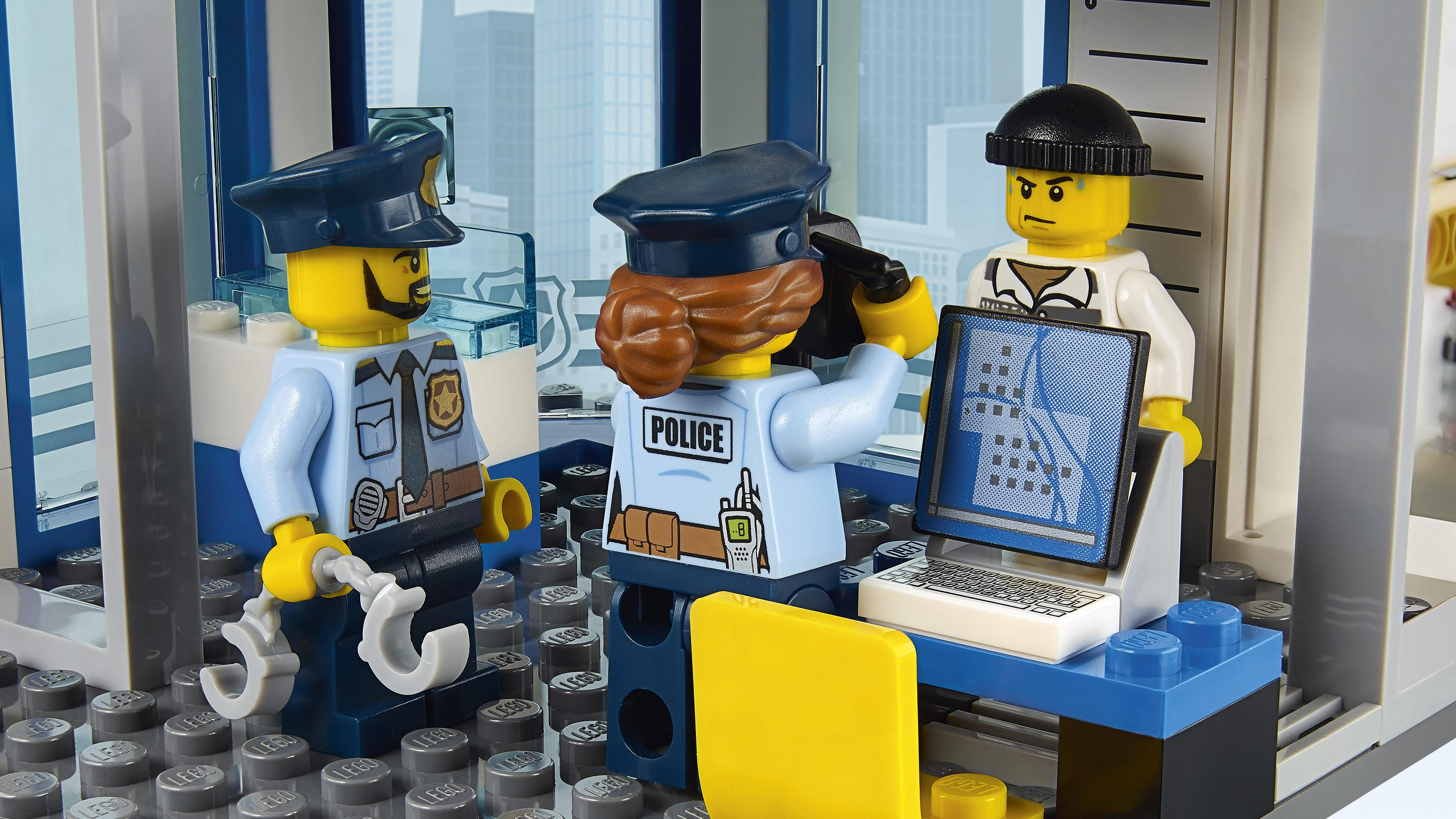Amazon Com Lego City Police Station 60141 Cool Toy For