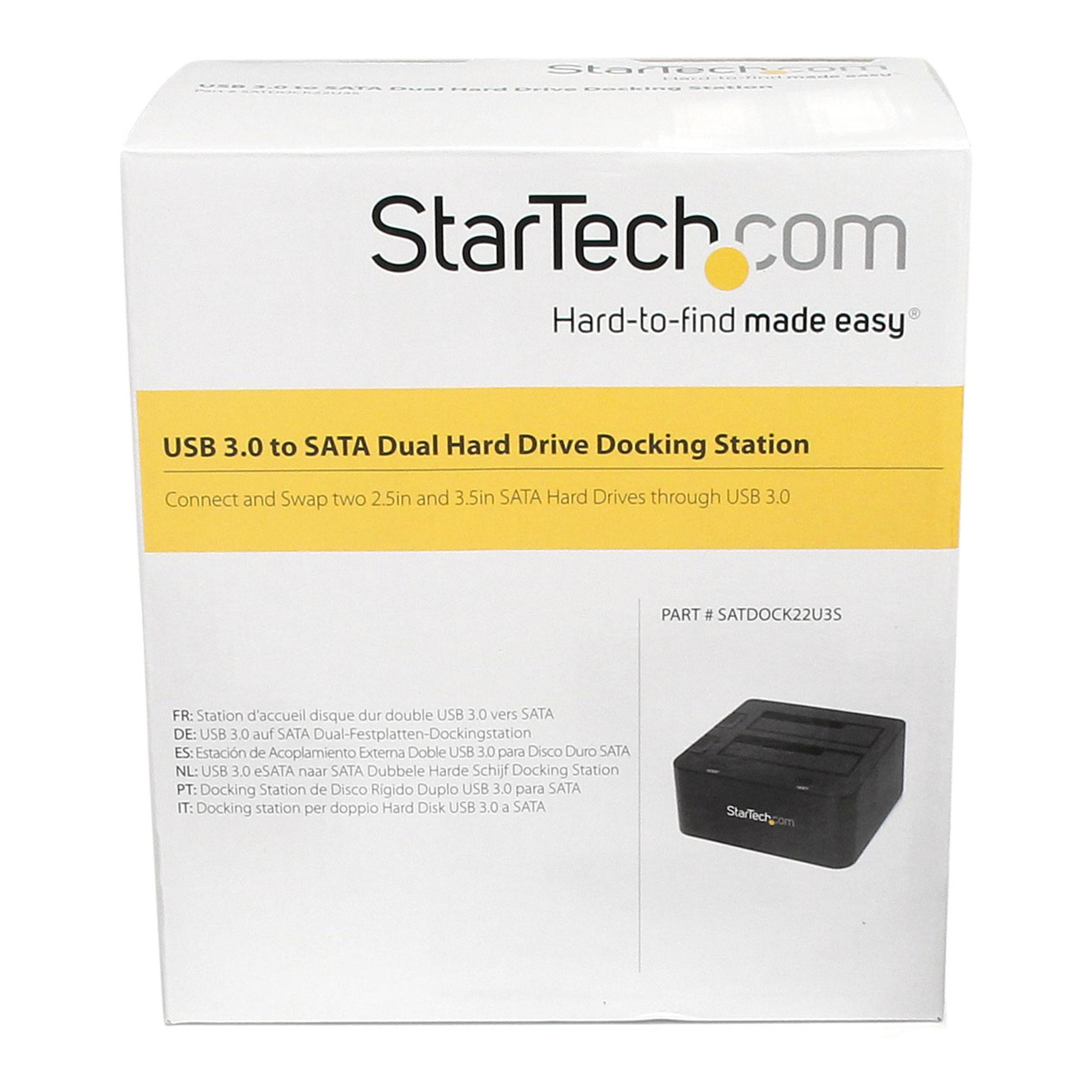 Amazon.com: StarTech. com Estación de acoplamiento para ...
