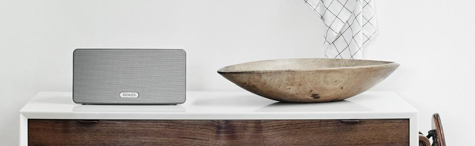 Sonos PLAY:3 | Immersive HiFi sound. Serious room-filling power.