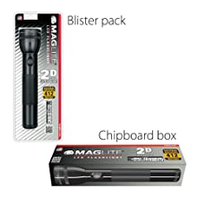 Maglite, Packaging, Blister, Chipboard Box, LED, 2-Cell, 3-Cell