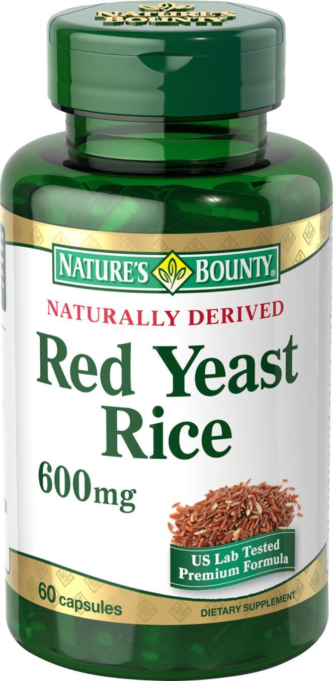 Amazon.com: Nature's Bounty Red Yeast Rice, 600 mg, 60