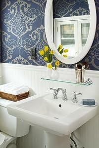 Moen dn8490ch preston bathroom vanity shelf - Preston hardware bathroom vanities ...