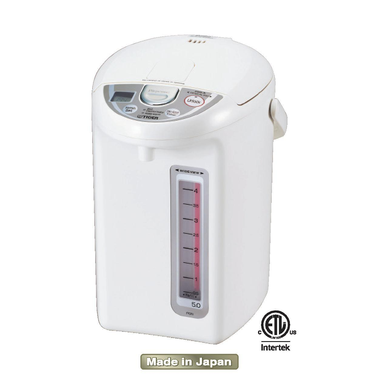 Amazon Com Tiger Pdn A30u W Electric Water Boiler And