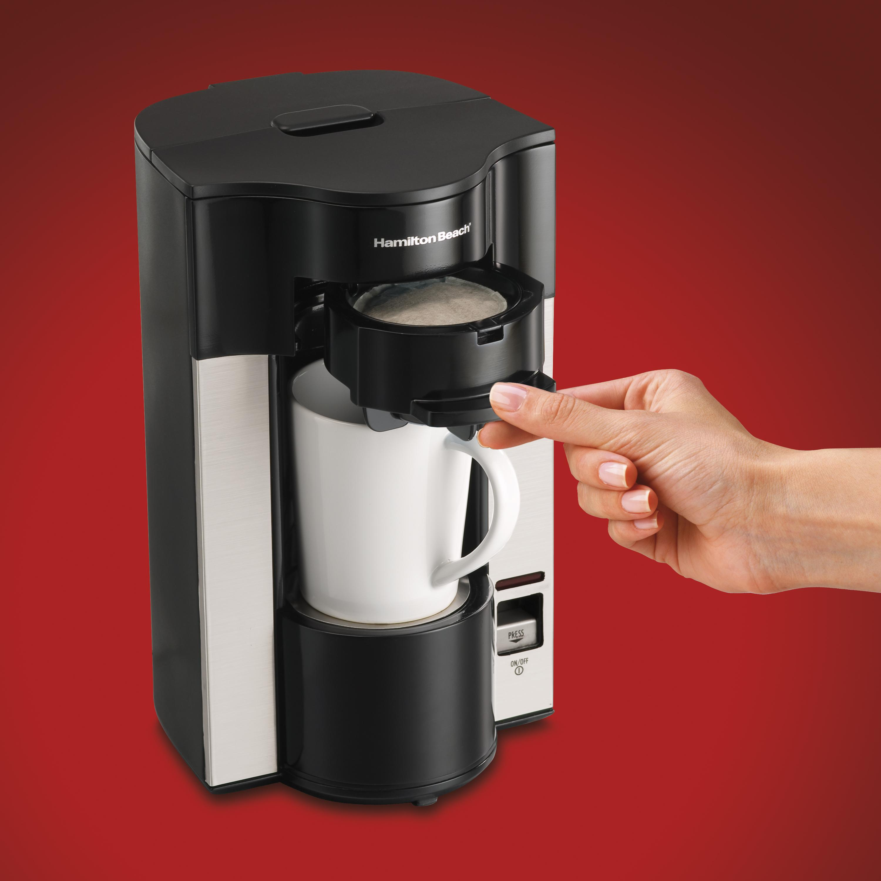 Personal Coffee Maker For Office : Amazon.com: Hamilton Beach Stay or Go Personal Cup Pod Coffee Maker 49990Z: Single Serve Brewing ...