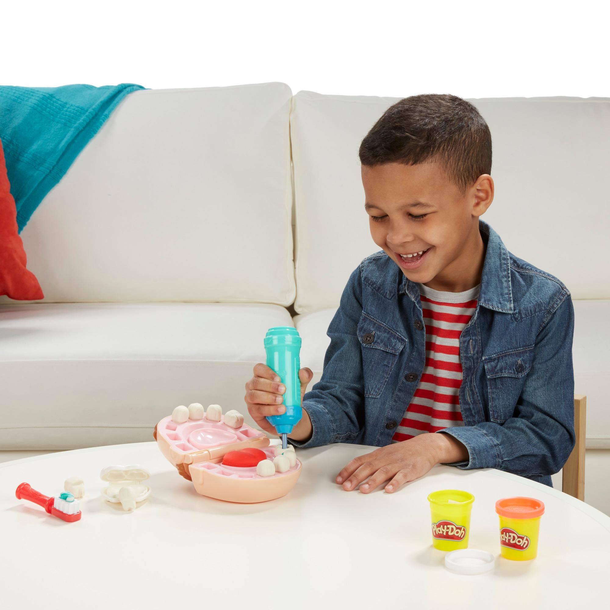Play Doh Doctor Drill N Fill Dentist Retro Dr Pack Set
