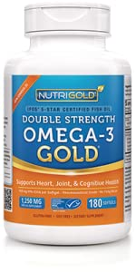 NutriGold Double Strength Omega-3 Gold