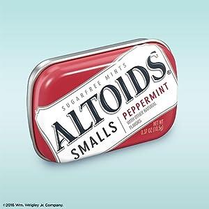 Altoids Smalls Sugarfree tin