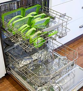 glass; storage; containers; dishwasher; clean; top rack; dishwasher safe; lids