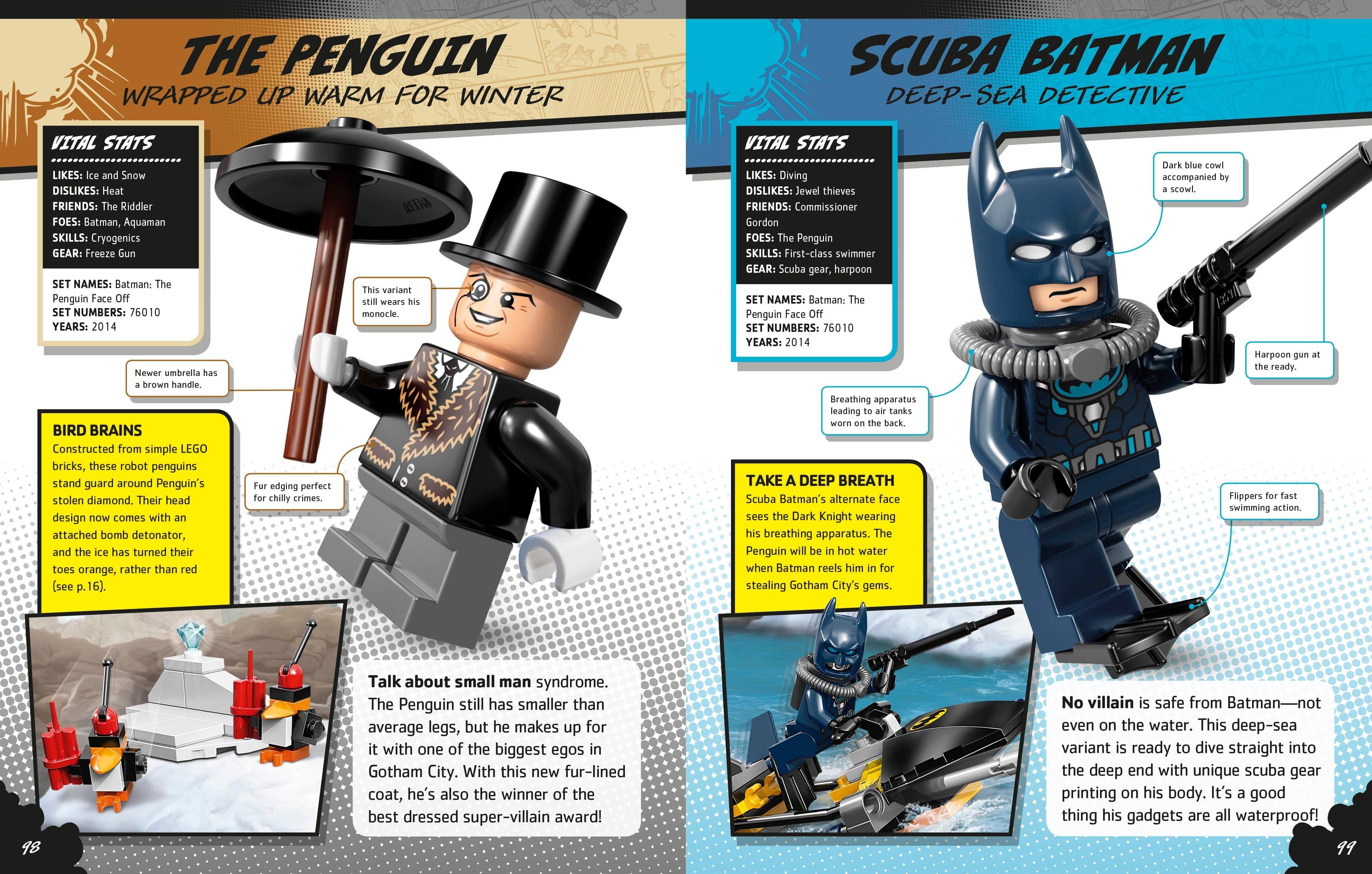 LEGO DC Comics Super Heroes Character Encyclopedia Hardcover – April