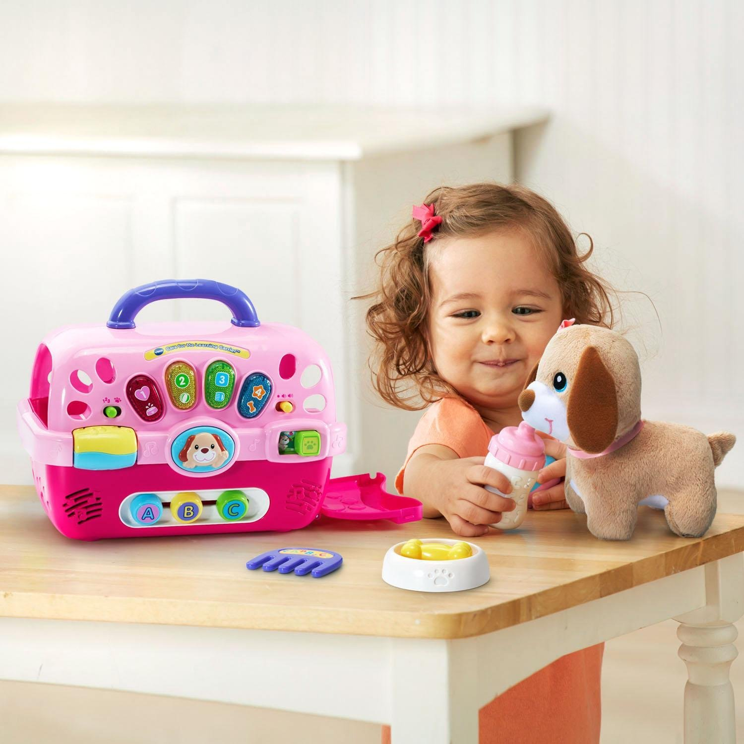 Amazon.com: VTech Care for Me Learning Carrier: Toys & Games