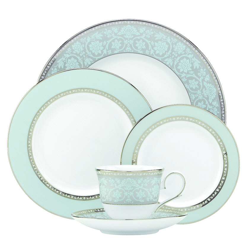 View larger  sc 1 st  Amazon.com & Amazon.com | Lenox Eternal 3-Piece Place Setting Ivory: Dinnerware Sets