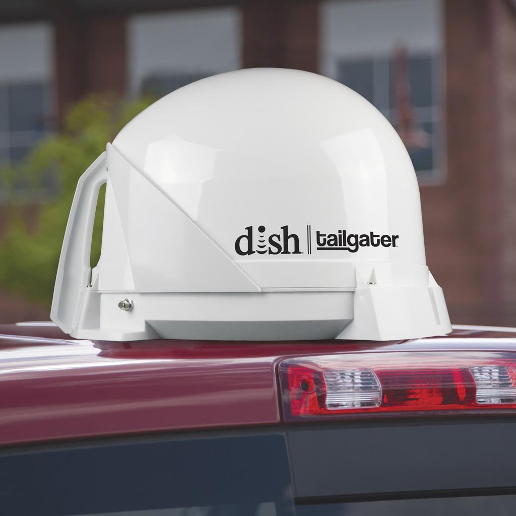 Amazon Com Dish Vq4400 Tailgater Portable Roof Mountable