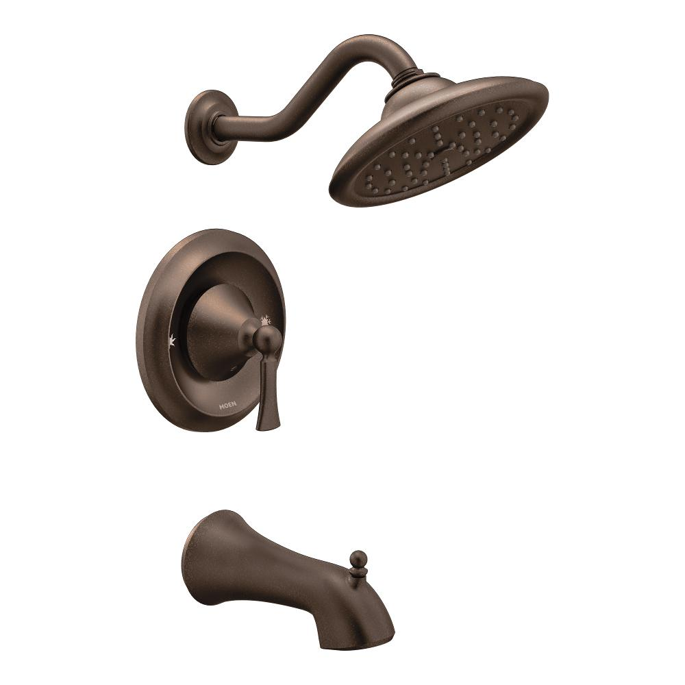 Moen T5503orb Wynford Tub And Shower Faucet Set Without Moentrol