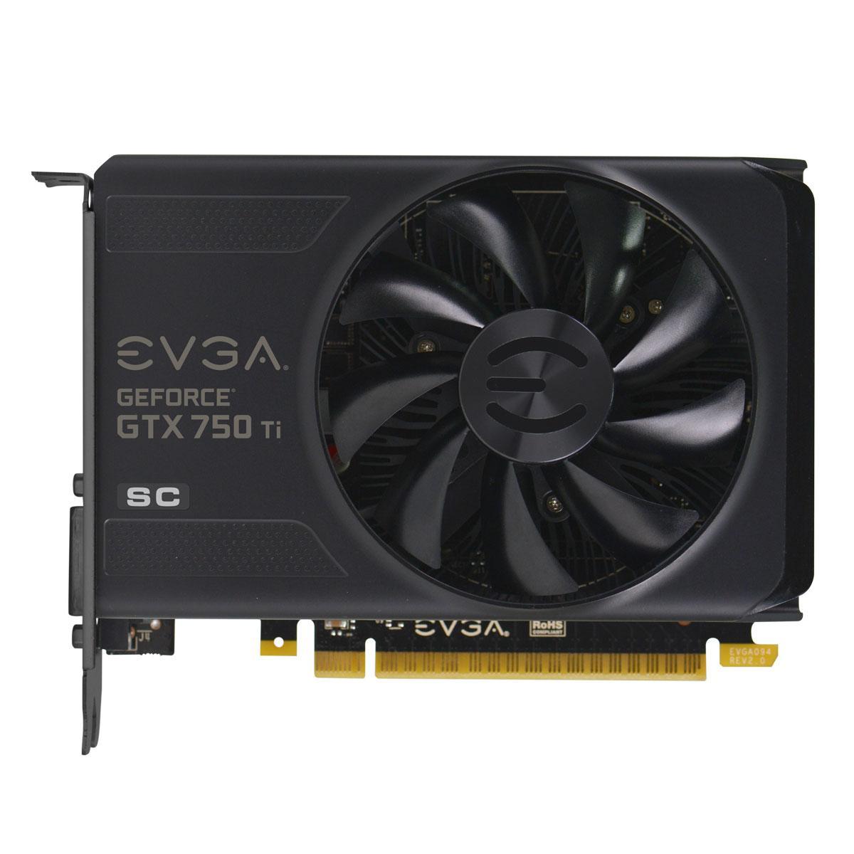 Amazon.com: EVGA GeForce GTX 750Ti SC 2GB GDDR5 Graphics