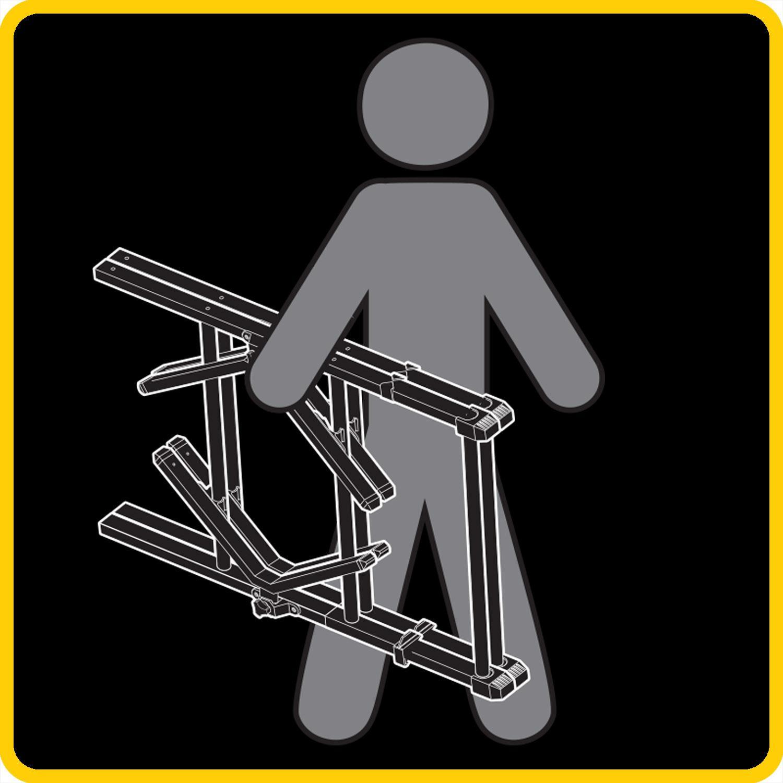 Amazon.com : Go! Gater Gold Ladderball Set - Steel : Sports & Outdoors