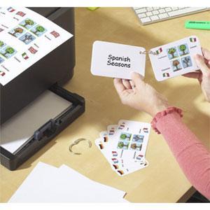 3x5 index card printer